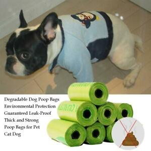 Dog Poo Bags 120 Large Strong Green Oxo-Biodegradable Dog