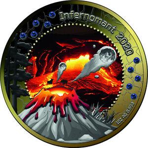 5-Cedis-Ghana-2020-1-OZ-Treasures-of-Blue-Planet-Infernomant-2020