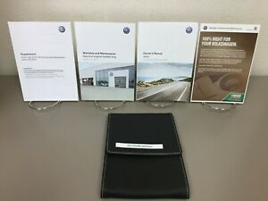 2013 Volkswagen VW Jetta Original Owners Manual set with case