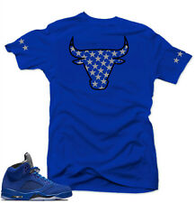 "/""CROWN BULL/"" T-Shirt to Match Air Retro 4 /""DUNK FROM ABOVE/"""