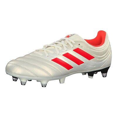 Scarpe calcio Miste Adidas COPA 19.3 SG G26974 Bianco Arancio   eBay