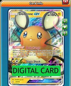 Dedenne-GX-57-214-Unbroken-Bonds-PTCGO-Online-Digital-Card