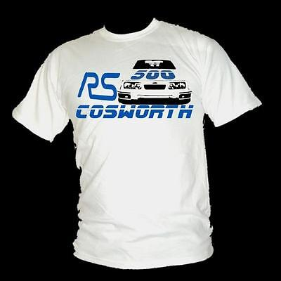 FORD Sierra Cosworth RS500 FAST FORD ROAD LEGEND ladies T-shirt all sizes