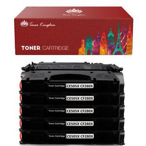 4PK CF280X 80X Black Toner Cartridge For HP LaserJet Pro 400 M401a M401dw M401n