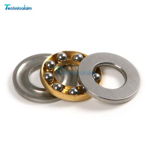 5PCS F8-16M 8*16*5mm Axial Ball Thrust Bearing thrust needle roller bearing