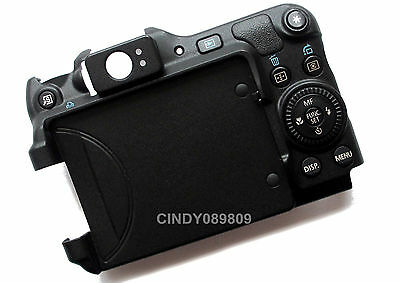 Original Back Cover Case Assembly With Control Dial Button For Canon G12 SLR