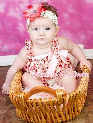 NewBorn Baby Colorful Rainbow Lace Chiffon ONEPIECE Petti Romper Jumpsuit NB-3Y