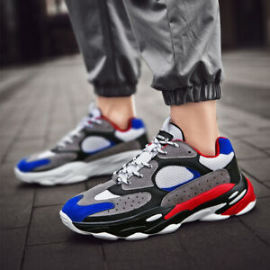 Men-039-s-Clunck-Sports-Sneakers-Athletic-Outdoor-Breathable-Running-Casual-Shoes