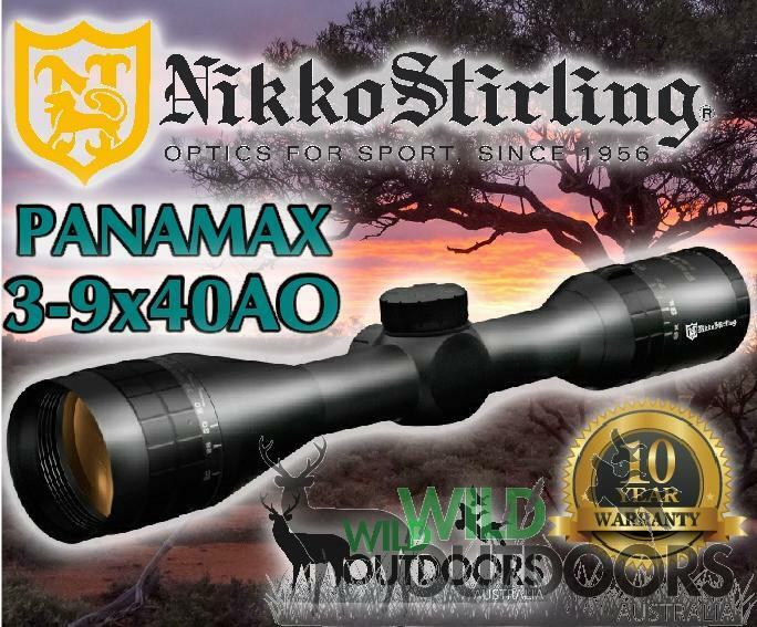 Mira Para Rifle Nikko Stirling - - Panamax - 3-9x40 ao media Mil Dot Retícula