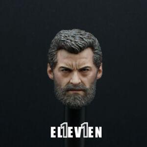 1-6-Wolverine-Hugh-Jack-Carving-Old-Logan-Man-Head-Sculpt-Body-F-12-034-Figure-Toys