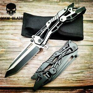 Folding-Knife-Steel-Handle-Survival-Pocket-Knives-Outdoor-Camping-Knife-Hunting