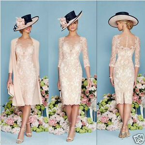 Image Is Loading Lace Mother Of The Bride Outfit Chiffon Jacket