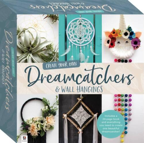 Crea tu propio dreamcatchers /& tapices Craft Kit por Hinkler Libros-Nuevo