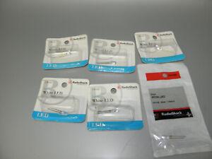 Six Radioshack 276 0320 5mm White Led 3 6v 20ma 1100mcd 40293153663 Ebay