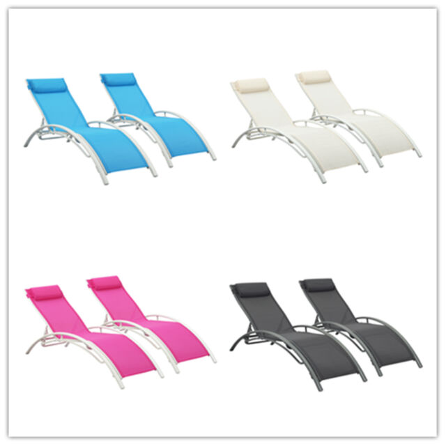 Enjoyable Adjustable Pool Chaise Lounge Chair Recliner Outdoor Patio Garden Furniture Ncnpc Chair Design For Home Ncnpcorg