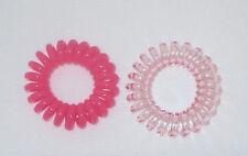 Item 2 Swirly Do Hair Ties Pink Tangle Free Ponytail New Swirlydo Lindo Small