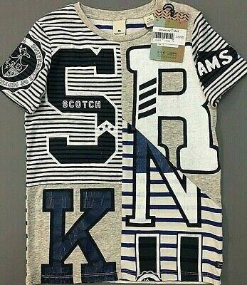 NWT Scotch Shrunk by Scotch /& Soda Sizes 8-10-12 Boys Green Pique Polo Shirt