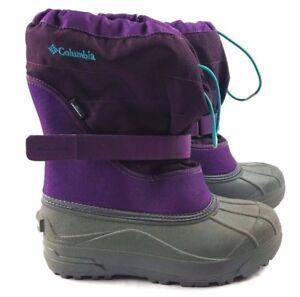 b10c0b8532ed Image is loading Columbia-Big-Kids-Purple-Powderbug-Plus-Winter-Waterproof-