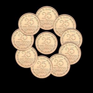 Münzen International Sri Lanka 25 Cents Km141 Unc Coin Asia Currency Asien