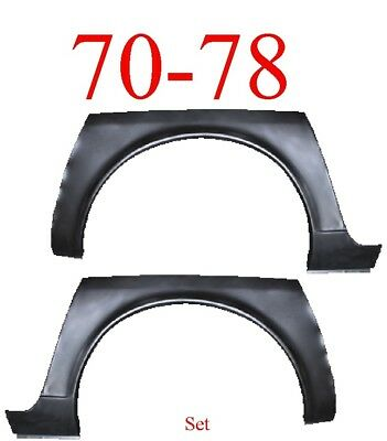 Rear Wheel Arch Panel for 70-78 Datsun 240 260 280Z except ZX /& 2+2-PAIR