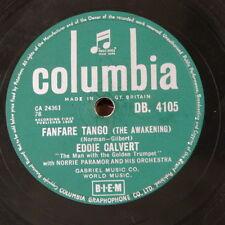 78rpm EDDIE CALVERT fanfare tango / little serenade