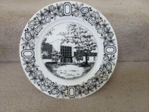 Details about Oneida Buffalo China Ohio State University Commemorative  Plate Ohio Union