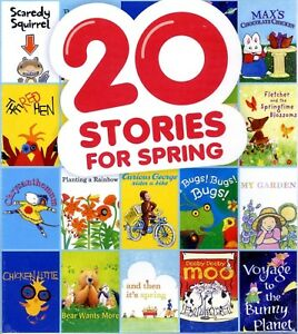20-Stories-Spring-for-ages-3-7-3-hours-Scholastic-animated-storybooks-new-DVD