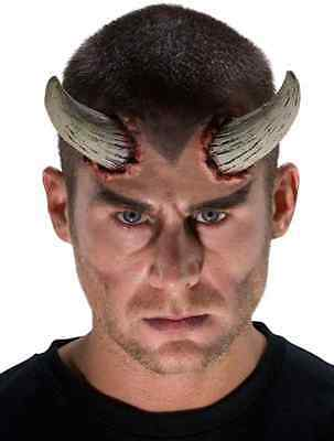 Universal Horns Devil Demon Dress Up Halloween Costume Makeup Latex Prosthetic