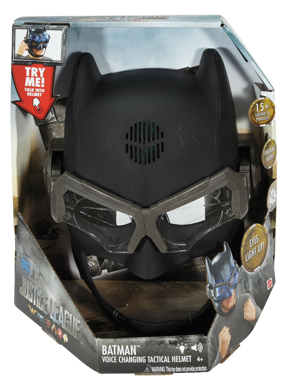 Hjälmän läderlappen Mask med röstförändring, lätt och lätt ljud, fast plaststorlek 26x17cm