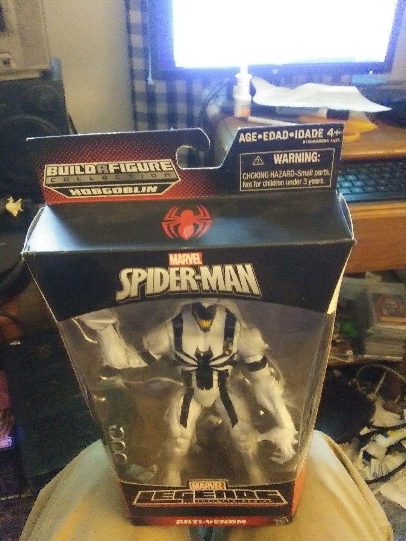 New Marvel Spider-Man Legends Infinite Series -ANTI-VENOM- Figure  BAF Hobgoblin