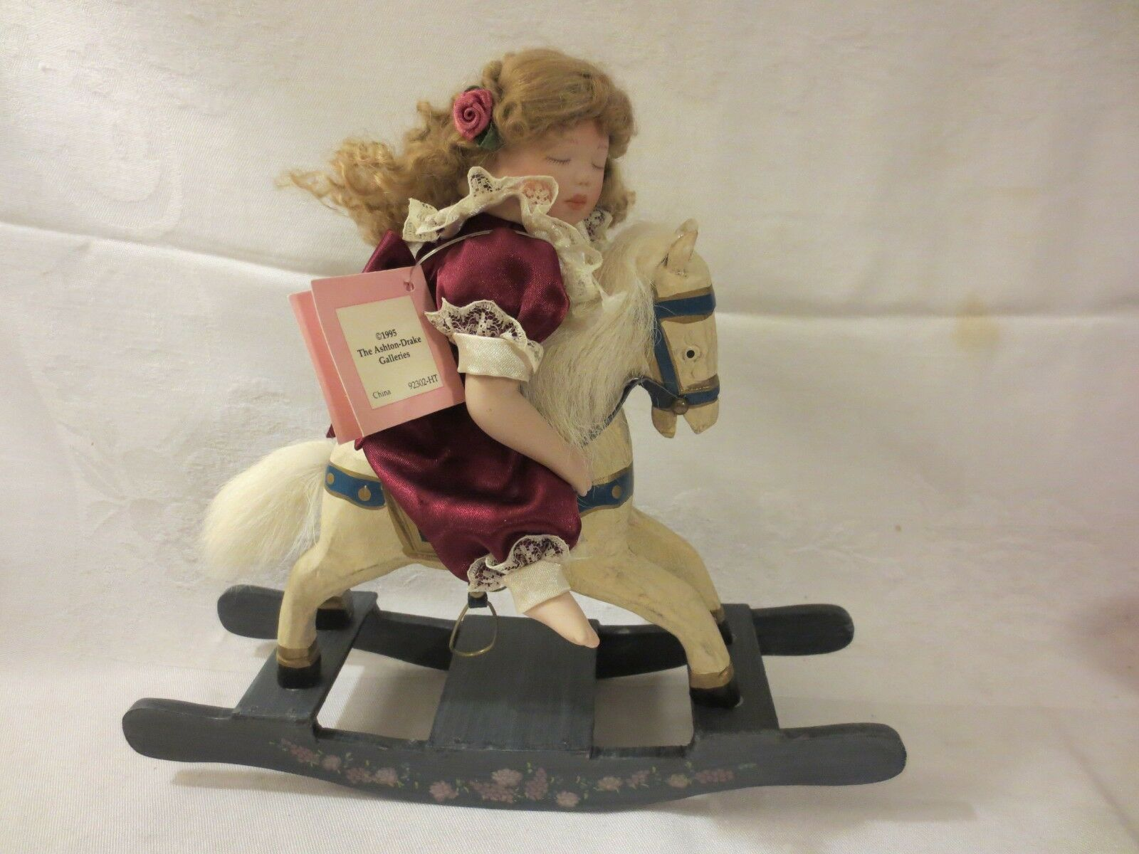 1995 Ashton-Drake by Kathy Barry-Hippensteel  Rock-A-Bye and Good Night  DOLL