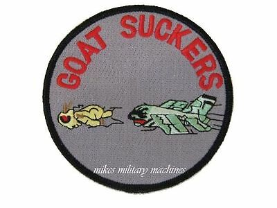 USAF Air Force Black Ops Area 51 4452nd Goat Suckers A-7 Corsair Aviation Patch