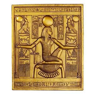 Egyptian-King-Tutankhamen-Temple-Stele-Design-Toscano-Exclusive-10-034-Plaque