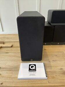 Q Acoustics 2070S Active Subwoofer BlackFull Working Order VGC - Can Post