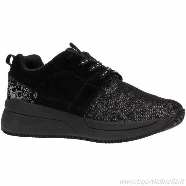shoes Lotto Iris AMF W S4535 women Running Vintage Black Memory Foam Casual