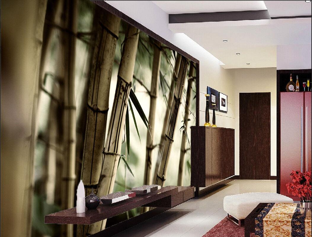 3D Bamboo Forest 98 Wallpaper Mural Paper Wall Print Wallpaper Murals UK