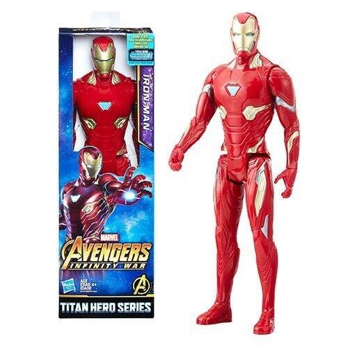 "Marvel Avengers Infinity War SERIE TITAN HERO IRON MAN 12/"" Action Figure"