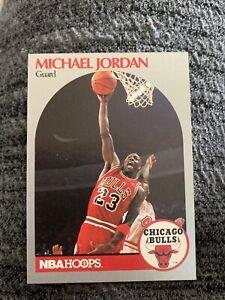 1990-NBA-Hoops-Basketball-65-Michael-Jordan-Chicago-Bulls-card-ERROR