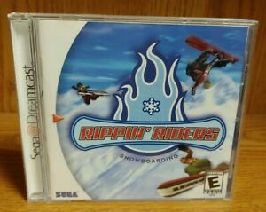 Rippin-039-Riders-Snowboarding-Sega-Dreamcast-Good-Working-Condition-COMPLETE