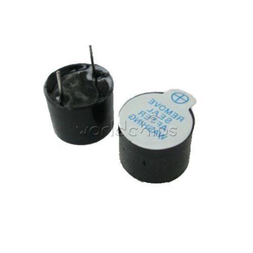 50Pcs 5v Active Buzzer Magnetic Long Continous Beep Tone Alarm Ringer 12mm