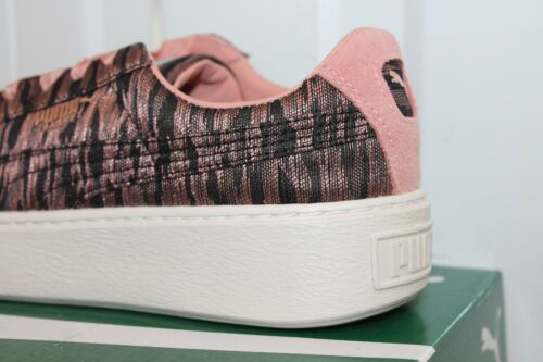 s Puma Platform Vr Basket Brown 25 Bnib Donna Rose Black 6AaqOnww
