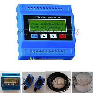 TUF-2000M-TS-2-DN15-DN100mm-Ultrasonic-Flow-Heat-Module-Flow-Meter-Flowmeter