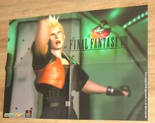 1999 Final Fantasy VIII 8 & Rayman 2 The great escape very rare Poster 56x40cm
