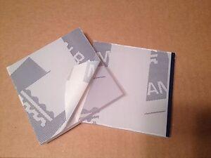 "Palsun polycarbonate clear sheet 1/2"" (12mm) x 12"" x 12""  (2 pce lot)"