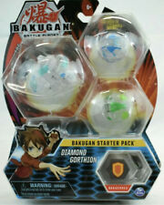 DIAMOND GORTHION Bakugan Starter Pack 3-Pack Collectible Transforming