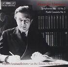 Alexander Tcherepnin Symphonies NOS 1 and 2 Singapore so Shui