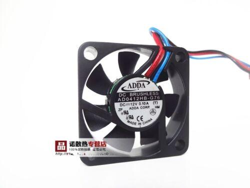 ADDA AD0412HB-G76 4010 0.10A 4CM CPU 12V cooling fan #M2403 QL