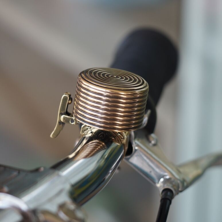 Sobybike Zahara Esabell Classic Brass Bicycle bell Brompton, dahon, moulton