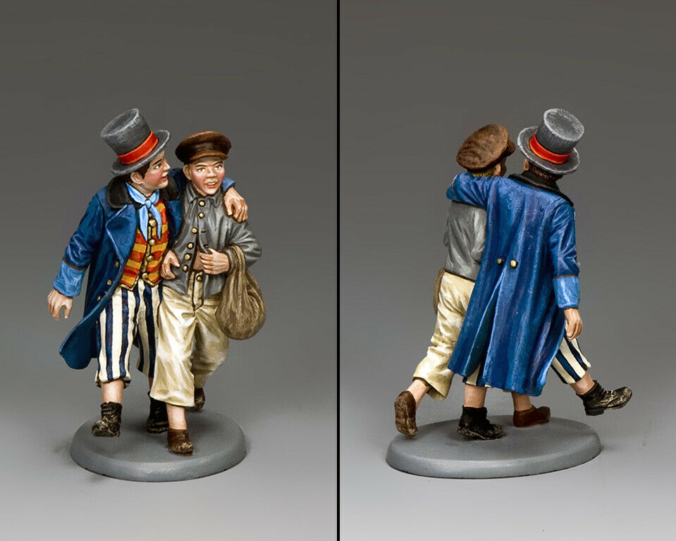 KING AND COUNTRY Dickens - Oliver- Oliver Oliver & Dodger WoD064 Painted Metal