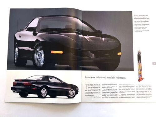 1993 Pontiac Firebird 14-page Car Sales Brochure Catalog Trans Am Formula